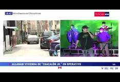"""Fiscalía allana vivienda de """"Chacalón Jr."""" y otros implicados en operativo contra trata de personas"""