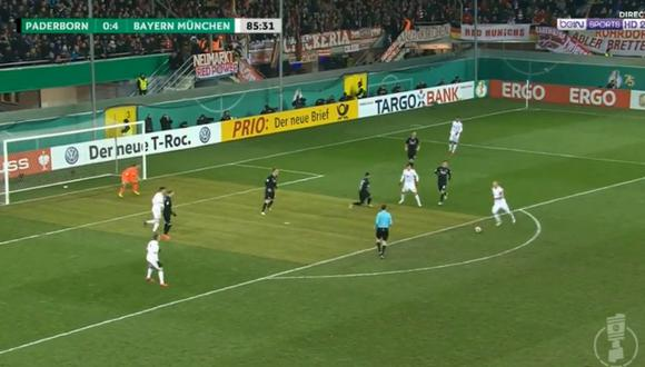 YouTube: Robben anotó golazo de la forma que mejor sabe hacer. (Foto: Captura de YouTube)