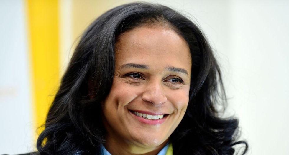 Isabel dos Santos es la hija del expresidente de Angola José Eduardo dos Santos y considerada la mujer más rica de África. (AFP)