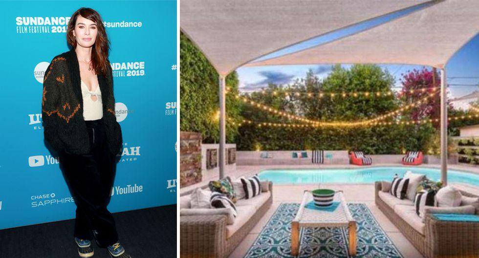 Lena Headey, actriz de Game of Thrones, adquirió esta propiedad en el 2014 y, tras remodelarla, la puso en venta por casi US$ 2 millones. (Foto: themls.com)