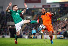 Holanda igualó 0-0 ante Irlanda del Norte y clasificó a la Euro luego de ocho años