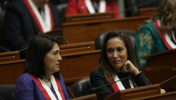 Paloma Noceda renunció el pasado jueves a Fuerza Popular. (Foto: Anthony Niño de Guzmán/ El Comercio)
