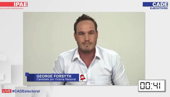 """""""Promoveré la inversión privada generando condiciones favorables y un clima de confianza"""", señaló Forsyth."""