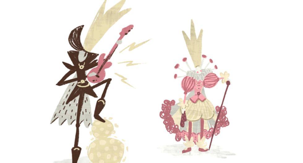 ¿Quién es el coronavirus? ¿Un rockero o quizás una princesa? (ilustración Sara Ramírez).
