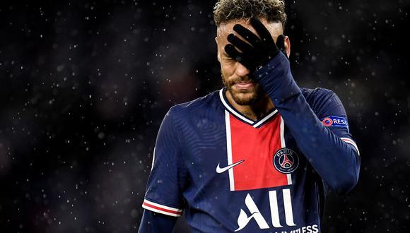 Neymar no jugará la final de la Copa de Francia.  (Foto: EFE)