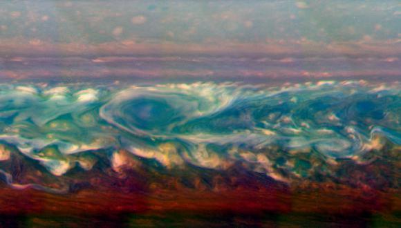 Las cosas no estuvieron tranquilas en Saturno