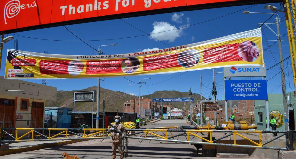 Refuerzan vigilancia en zona fronteriza con Bolivia, en Puno. (Foto: Carlos Fernández)