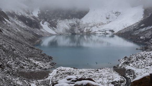 Proyecto de sistema de alerta temprana y obras de infraestructura están pendientes desde hace una década. Foto:Instituto Nacional de Investigación en Glaciares y Ecosistemas de Montaña