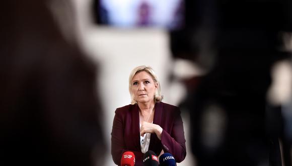 Marine Le Pen, líder de la extrema derecha francesa. (Foto: EFE)