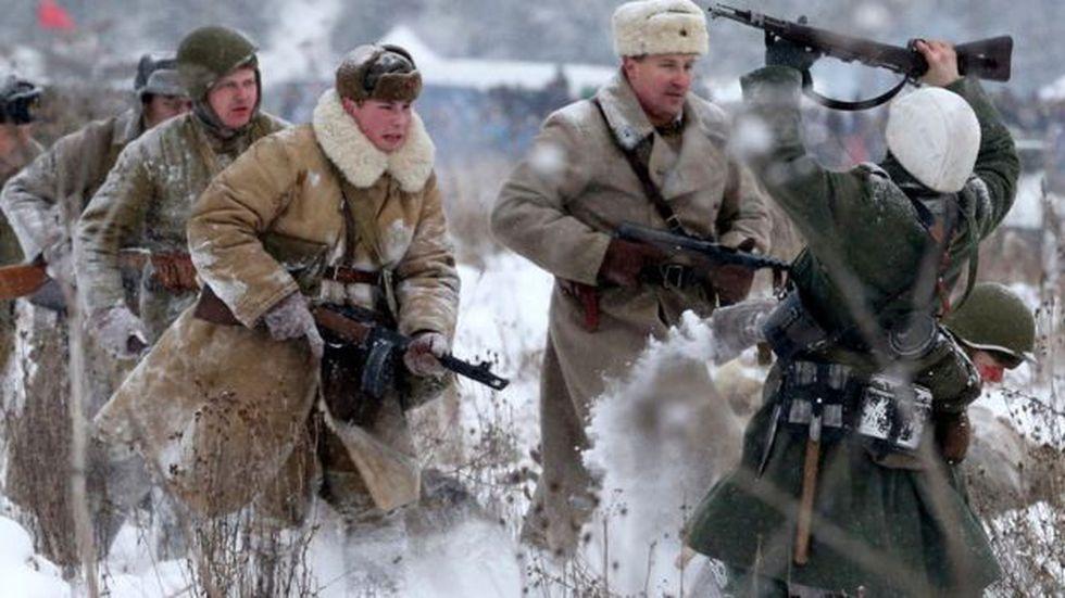 Ahora se celebra con representaciones de la liberación que rompió el asedio de Leningrado en 1944. (Foto: Getty Images)