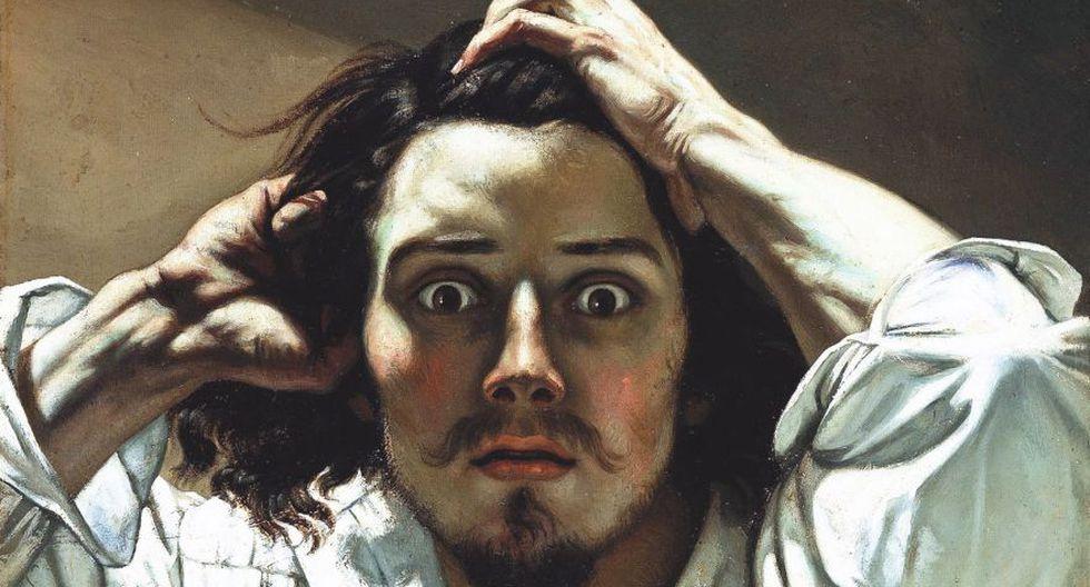 """Hasta obras universales como """"El origen del mundo"""" de Gustave Courbet (arriba en un autorretrato) han sufrido la censura de Facebook. (Dominio público)"""