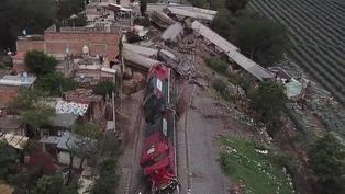 México: Descarrilamiento de tren de carga deja un muerto y tres heridos