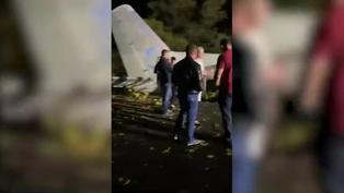 Una veintena de muertos al estrellarse un avión militar en Ucrania