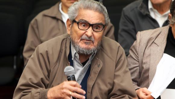 La muerte de Abimael Guzmán (86) se produjo a las 6:40 am del sábado 11 de septiembre, según dio a conocer el INPE   Foto: Archivo El Comercio