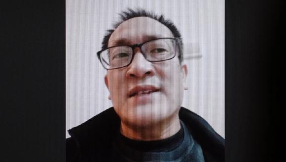 El abogado de derechos humanos Wang Quanzhang fue liberado en China. Foto: GREG BAKER / AFP