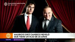 Mauricio Diez Canseco revela que tiene un hijo de 23 años