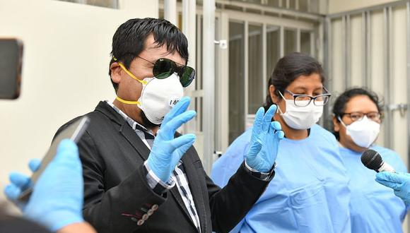 El gobernador de Arequipa, Elmer Cáceres, tiene a su cargo los hospitales y establecimientos de salud del Minsa.