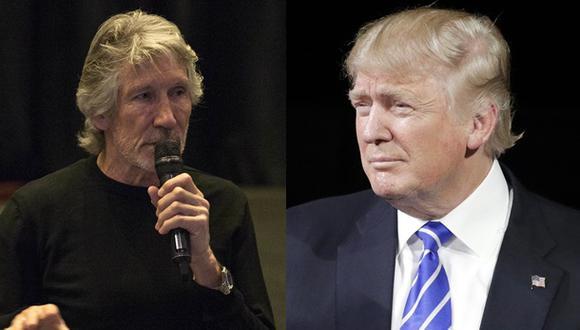 Roger Waters criticó a Peña Nieto e insultó a Donald Trump