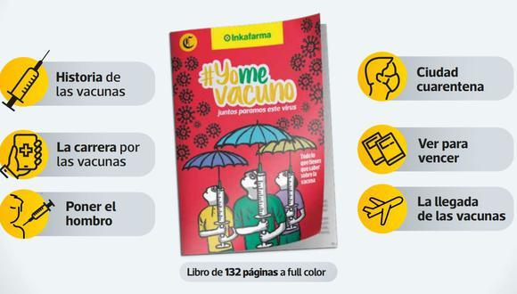 El libro #YoMeVacuno sale gratis este domingo 25 de abril con tu diario El Comercio.