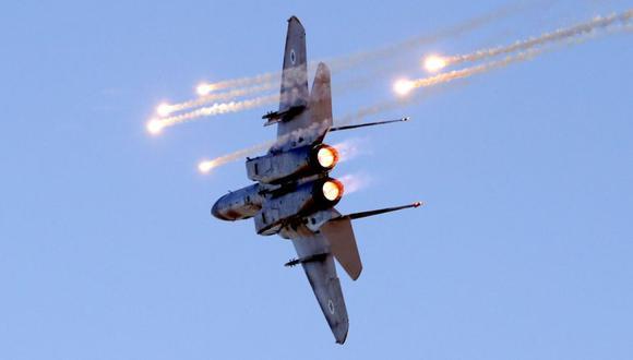 Estados Unidos atacó a milicias apoyadas por Irán en Siria. Eb la imagen, un avión de combate F-15 (Foto: Archivo / JACK GUEZ / AFP).