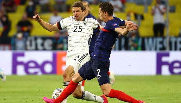Francia y Alemania se enfrentan en un partidazo por la Eurocopa | Foto: @DFB_Team_ES