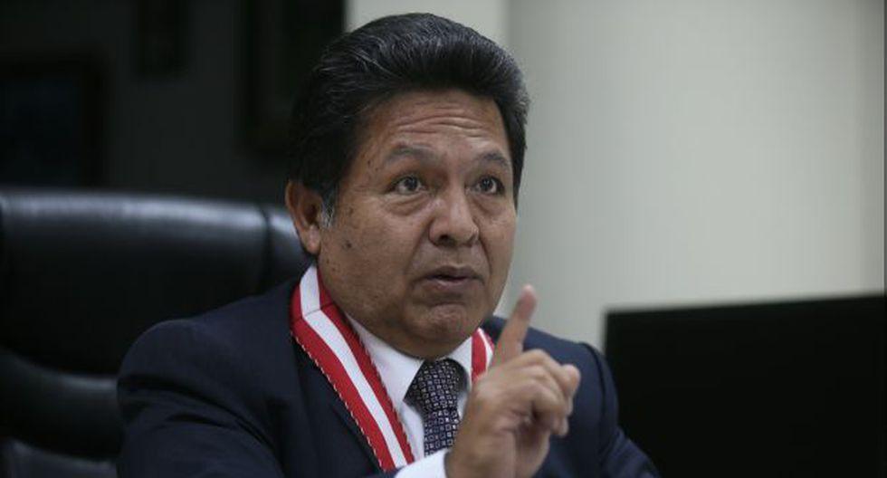 Cronología: Así llegó Ramos Heredia a la fiscalía de la Nación