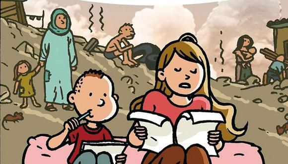 """""""Puro Perú"""": un cómic que narra la crisis climática en comunidades indígenas. (Foto: CEPAL)"""