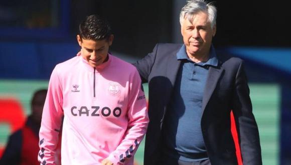 Carlo Ancelotti revela su nuevo plan para James Rodríguez.