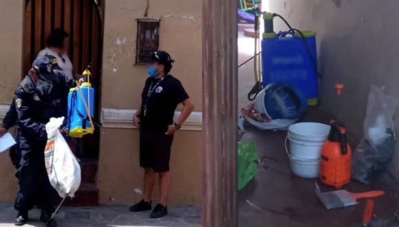 Arequipa: delincuentes se hacen pasar por fumigadores para entrar a casa y se roban a la mascota (Foto: PNP)
