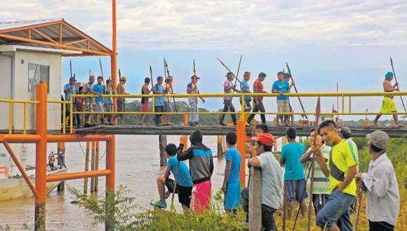 El Frente de Defensa de Saramuro ha provocado desde el viernes la paralización del traslado de petróleo por todo el Oleoducto Norperuano operado por Petro-Perú. (Foto: Alonso Chero/Archivo)