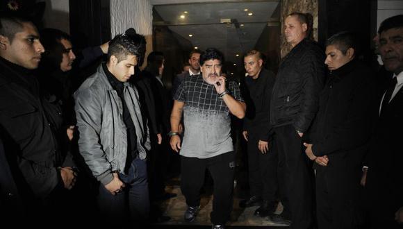 Diego Maradona falleció en noviembre del 2020 en su domicilio en Buenos Aires. (Foto: EFE)