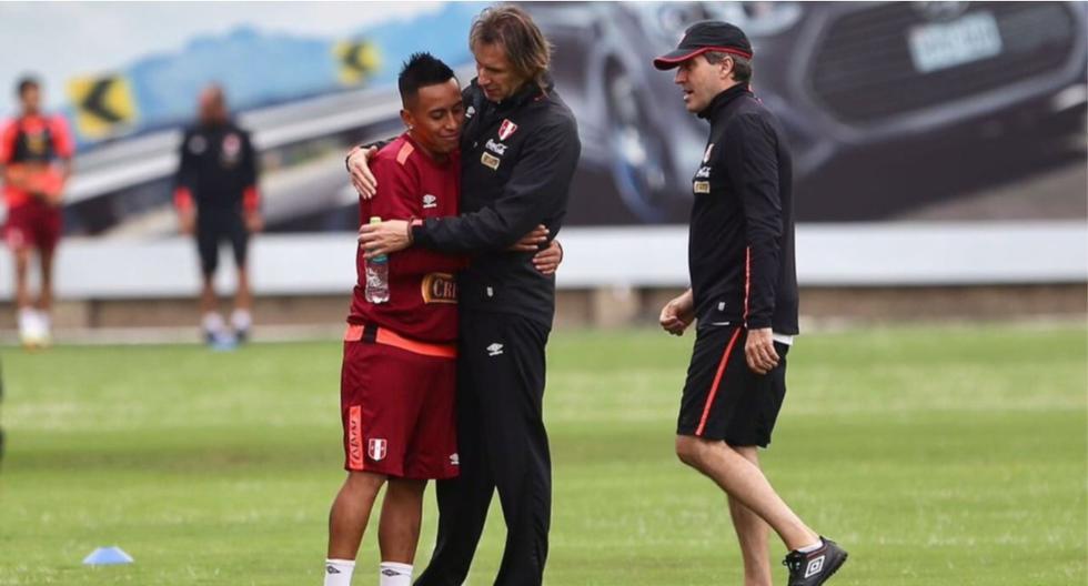 Christian Cueva es el futbolista que más jugó con Ricardo Gareca: 66 de los 73 partidos que dirigió hasta ahora el DT. (Foto: FPF)