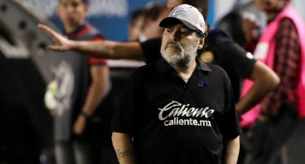 Diego Maradona, campeón del mundo con Argentina. (Foto: Reuters)