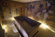 Descubren posible cámara secreta en tumba de Tutankamón y no descartan encontrar restos de Nefertiti