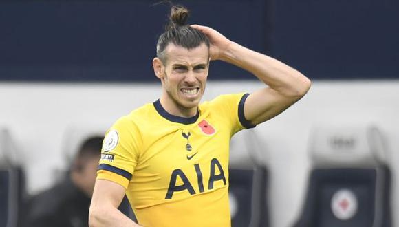 Gareth Bale todavía no brilla en el Tottenham y recibe críticas. (Foto: AFP)