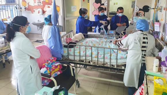 Los menores recibirán la misma atención que tenían en el Instituto Nacional de Salud del Niño (INSN) de Breña, pero en sus casas gracias al Programa de Externalización de Pacientes con Ventilación Mecánica Prolongada. (Foto: INS)