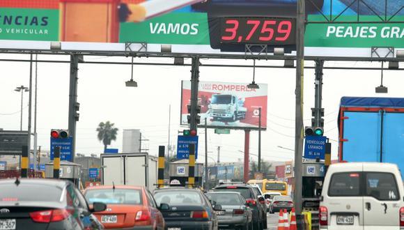 Lamsac maneja 11 peajes en Lima. (Foto: GEC)