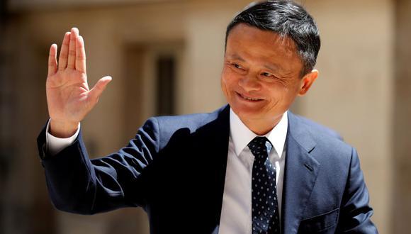 Jack Ma, presidente de Alibaba Group, llega a la cumbre Tech for Good en París, Francia, el 15 de mayo de 2019. (REUTERS / Charles Platiau).