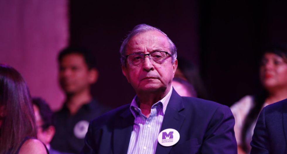 Daniel Mora fue ministro y congresista. Ahora postula al Parlamento con el Partido Morado (Foto: GEC)