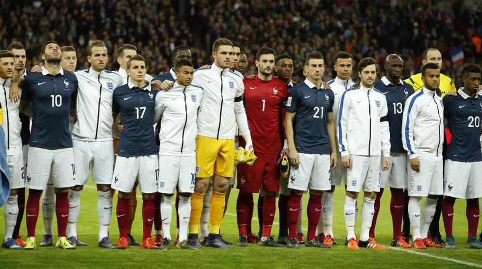 Francia vs. Inglaterra: fotos de emotiva ceremonia en Wembley - 20