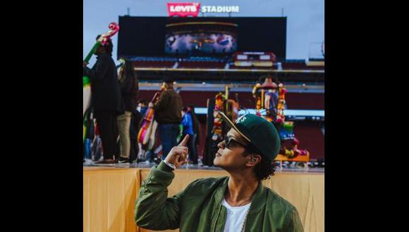 Instagram: Bruno Mars confirmó su actuación en el Super Bowl