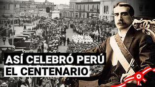 Mira como se celebró el Centenario de la Independencia del Perú en 1921