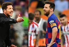 ¿Por qué Simeone no ha aceptado dirigir a la selección de Messi?