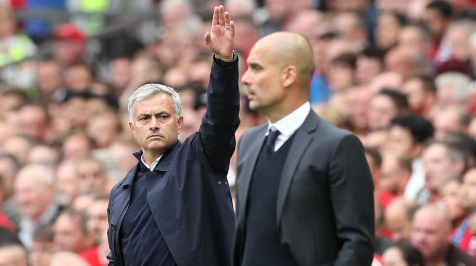 Pep Guardiola y Mourinho: así fue su reencuentro en el derbi - 6