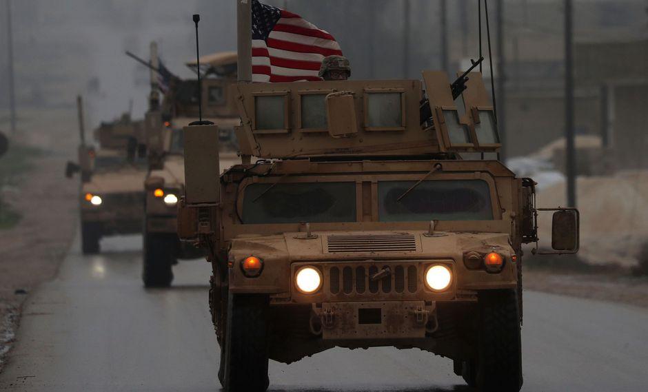 Donald Trump anunció que el retiro de Estados Unidos de Siria será lento. (AFP).