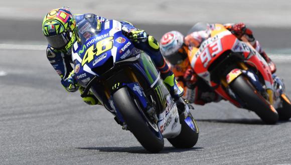 MotoGP: Valentino Rossi ganó en Montmeló por décima vez