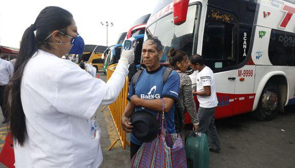 Buses interprovinciales podrán usar el 100% de sus asientos. (Foto: GEC)