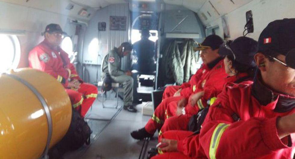 Bomberos de Arequipa se dirigen a Acarí para rescate de mineros