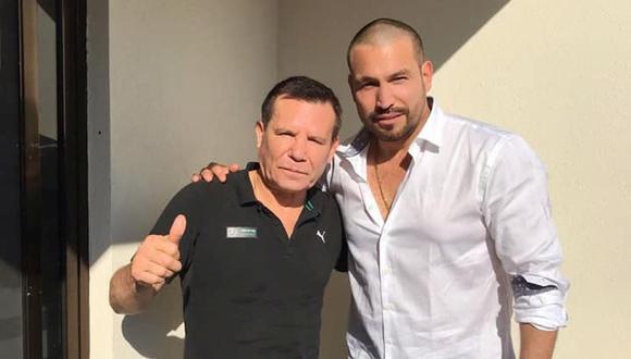 Rafael Amaya está internado en la clínica de Julio César Chávez desde hace cuatro meses y se encuentra recuperando (Foto: Instagram / Julio César Chávez)