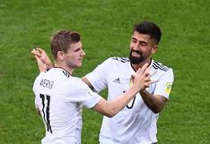 Alemania venció 3-1 a Camerún y clasificó primero en el Grupo B de la Copa Confederaciones 2017